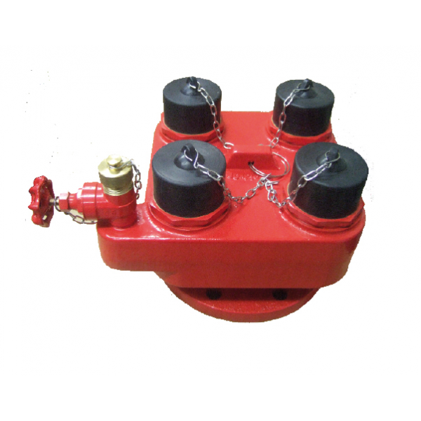 4-Way Inlet Breaching Valve