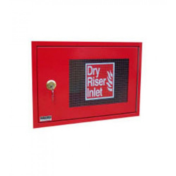 HC011 Horizontal Inlet Cabinet Red