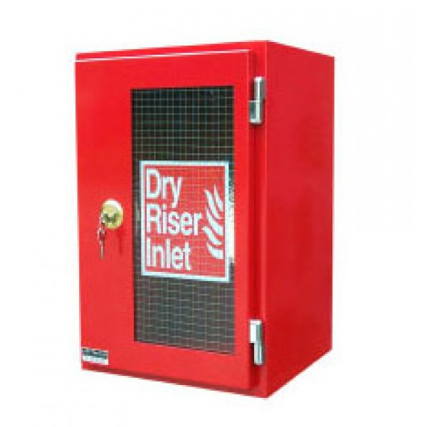 HC012 Vertical Surface Mounted Inlet Cabinet – Red