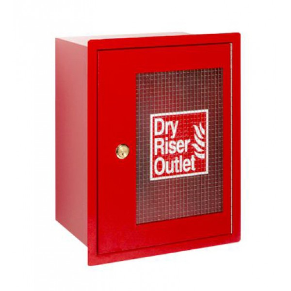 HC006 4-Way Inlet Cabinet Red